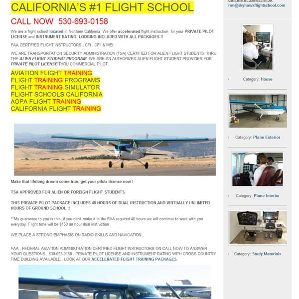 Sky Hawk Flight School