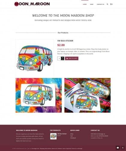 Moon Maroon