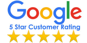 Rated 5 stars on Google for Chico web design services